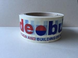 klebeband bedruckt mit logo