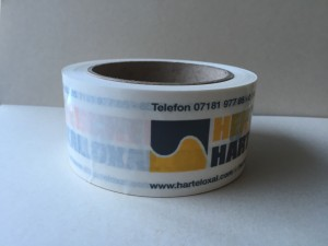paketband mit logo