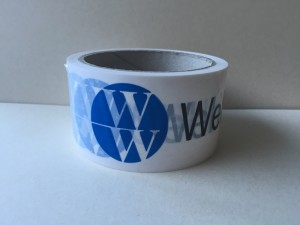 Paketband bedrucken bedruckt mit logo